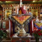 Venue de Shamar Rinpoché à l'Institut Karmapa , mai 2014, France