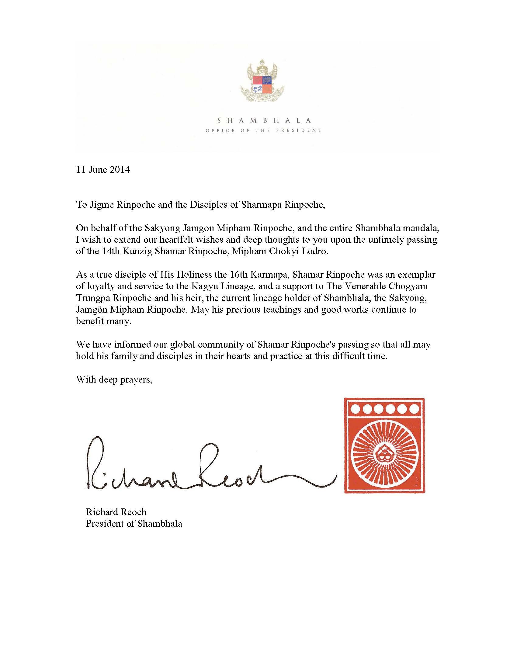letter of condolence for death condolence letter death business – Condolence Letter Sample